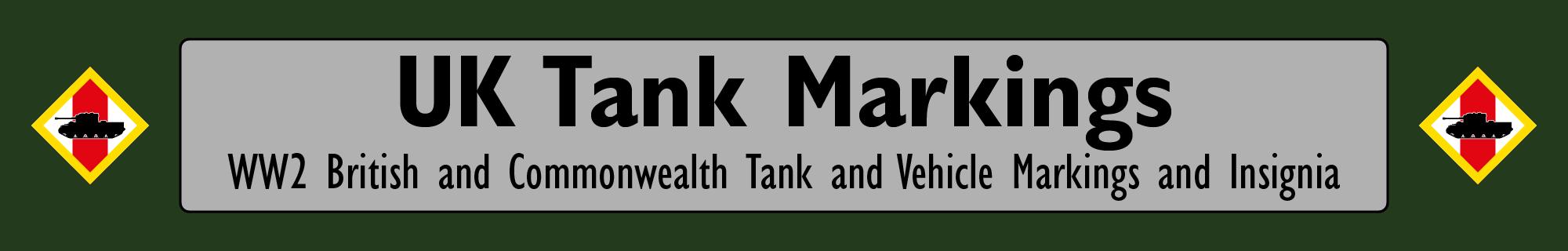 UK Tank Markings